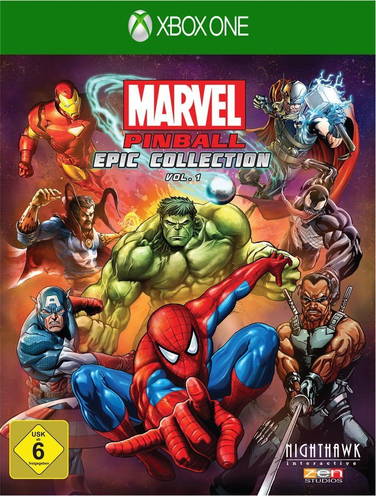 Telltale Games XBOX One - Spiel »Marvel Pinball EPIC Collection: Volume 1«