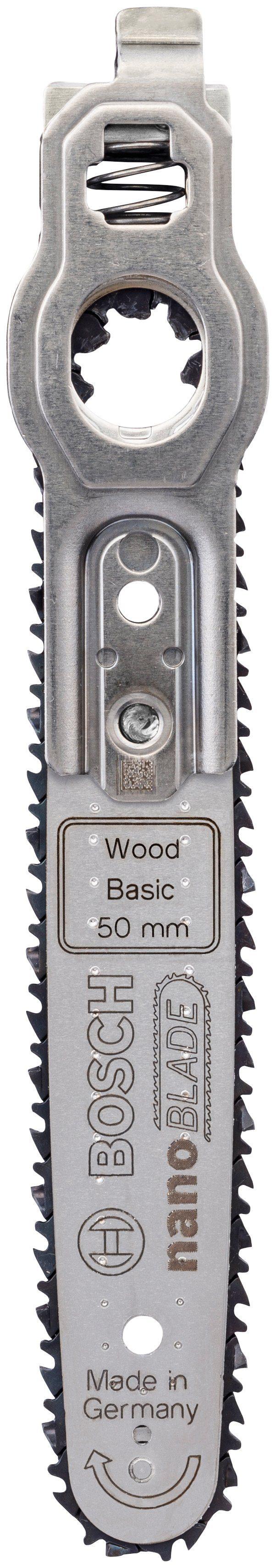 BOSCH Sägeblatt »Wood Basic 50«, für Schneidemaschine