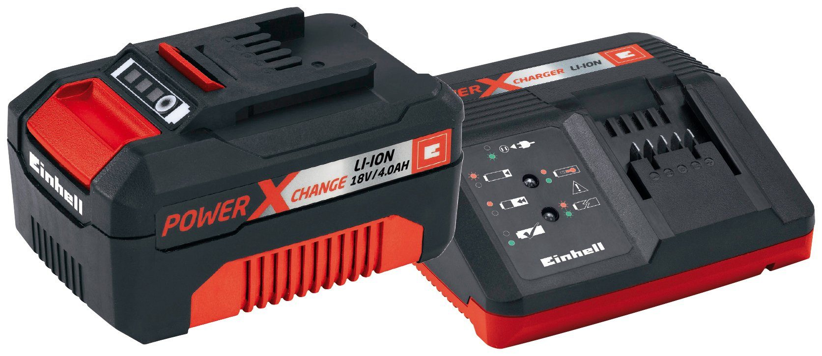 EINHELL Akku »Starter-Kit Power X-Change 18 V 4,0 Ah«