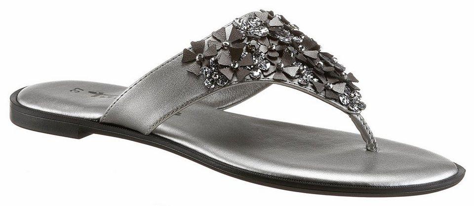nice shoes affordable price new list Tamaris Zehentrenner mit modischer Blütenapplikation online kaufen   OTTO