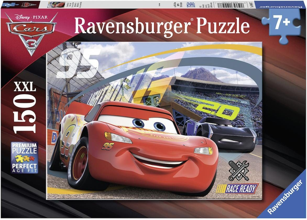 Ravensburger Puzzle, 150 XXL Teile, »Disney Pixar Cars 3 Rasantes Rennen«