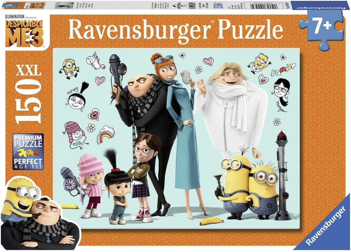 Ravensburger Puzzle, 150 XXL Teile, »Gru und seine Familie«
