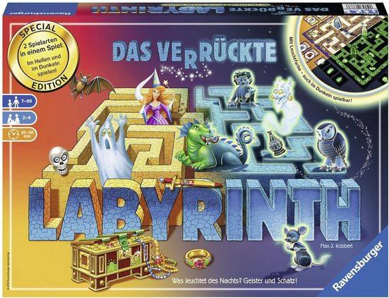 Ravensburger Spiel, »Das verrückte Labyrinth - 30 Jahre Jubiliäumsedition«, Made in Europe, FSC® - schützt Wald - weltweit