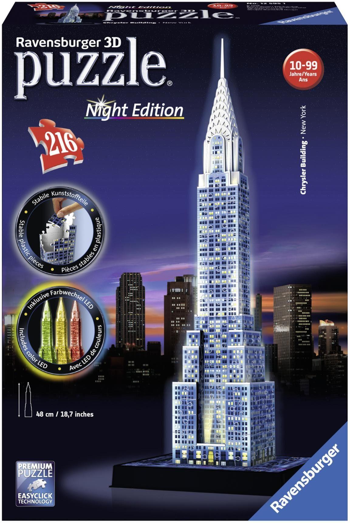 Ravensburger 3D Puzzle, 216 Teile, »Chrysler Building«