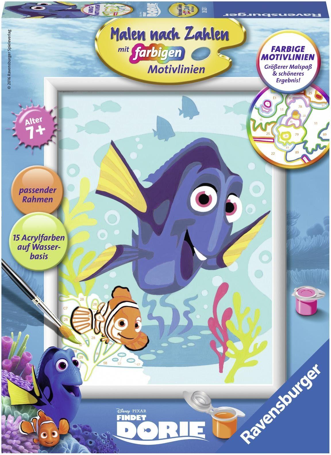 Ravensburger Malen nach Zahlen, »Disney Dorie und Nemo«