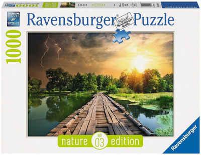 Ravensburger Puzzle »Mystisches Licht - Nature Edition«, 1000 Puzzleteile, Made in Germany, FSC® - schützt Wald - weltweit