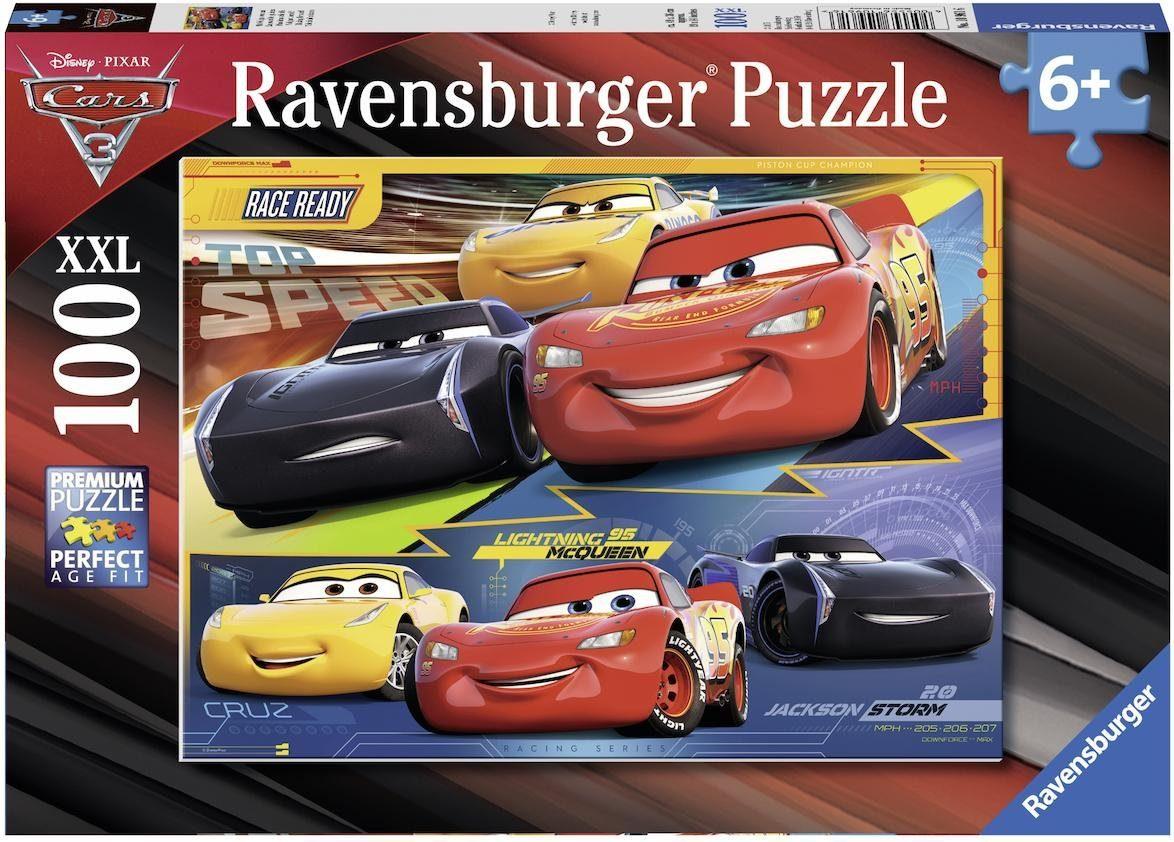 Ravensburger Puzzle, 100 XXL Teile, »Disney Pixar Cars 3 Vollgas!«