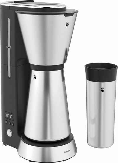 WMF Filterkaffeemaschine KÜCHENminis® Aroma Thermo to go, 0,65l Kaffeekanne, Papierfilter 1x2