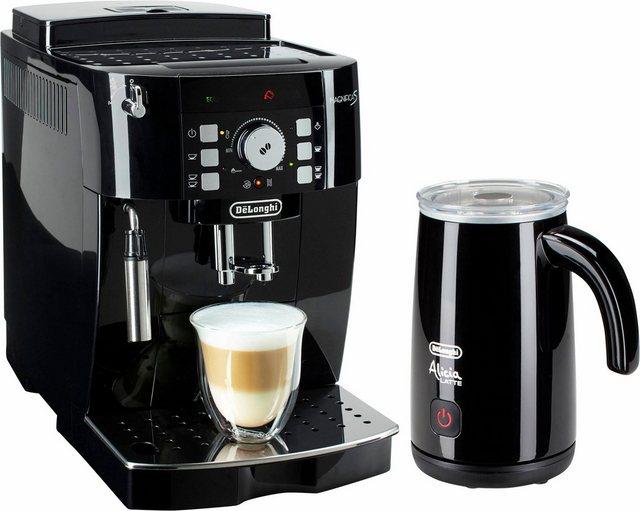Delonghi De Longhi Kaffeevollautomat ECAM 21.118.B, inkl. Milchaufschäumer im Wert von UVP 89,99