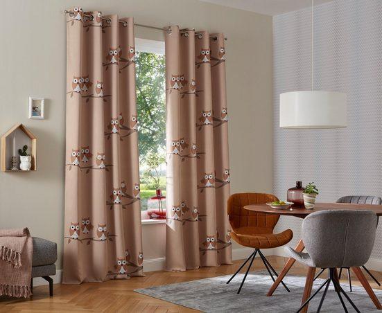 Vorhang »Linea«, my home, Ösen (2 Stück)