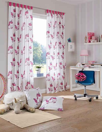 Kinderzimmer Gardine In Rosa Online Kaufen Otto