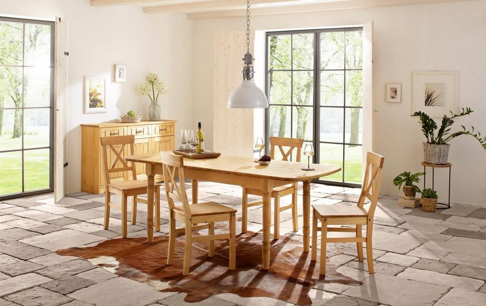 home affaire essgruppe sevilia 5 tlg oder 7tlg online kaufen otto. Black Bedroom Furniture Sets. Home Design Ideas
