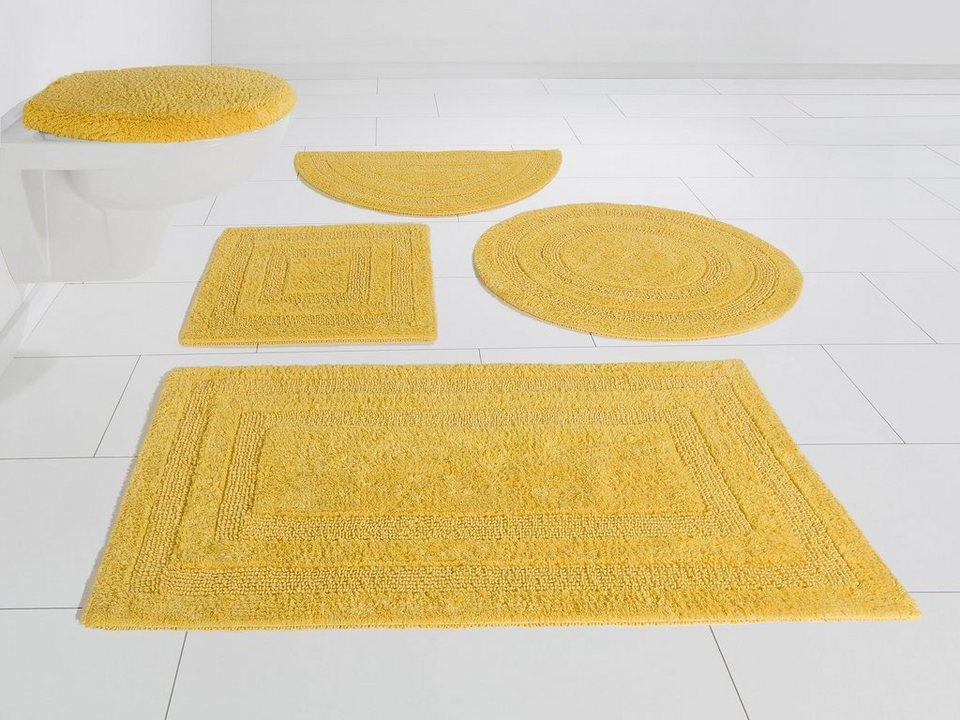 Badematte »Kari« my home, Höhe 10 mm, Beidseitig verwendbar online kaufen    OTTO