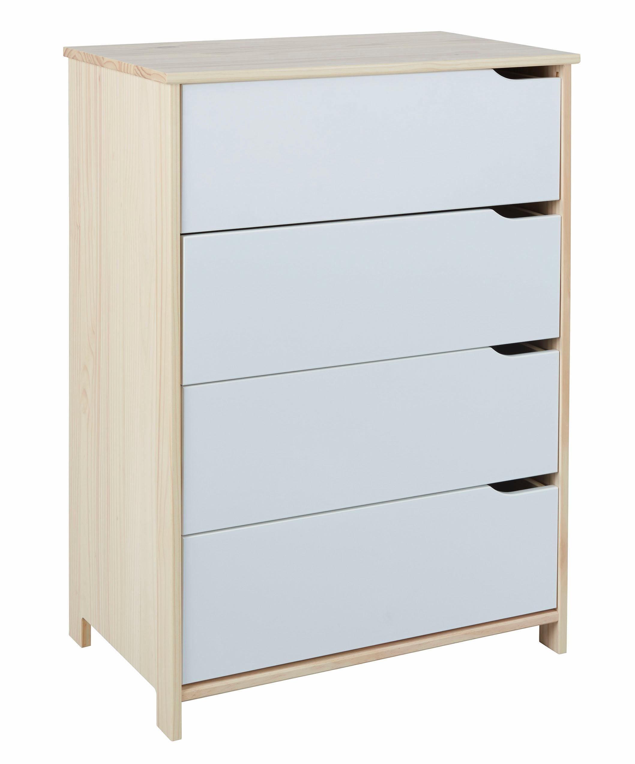 Home affaire Kommode »Matheo« mit vier Schubladen, Breite 80 cm