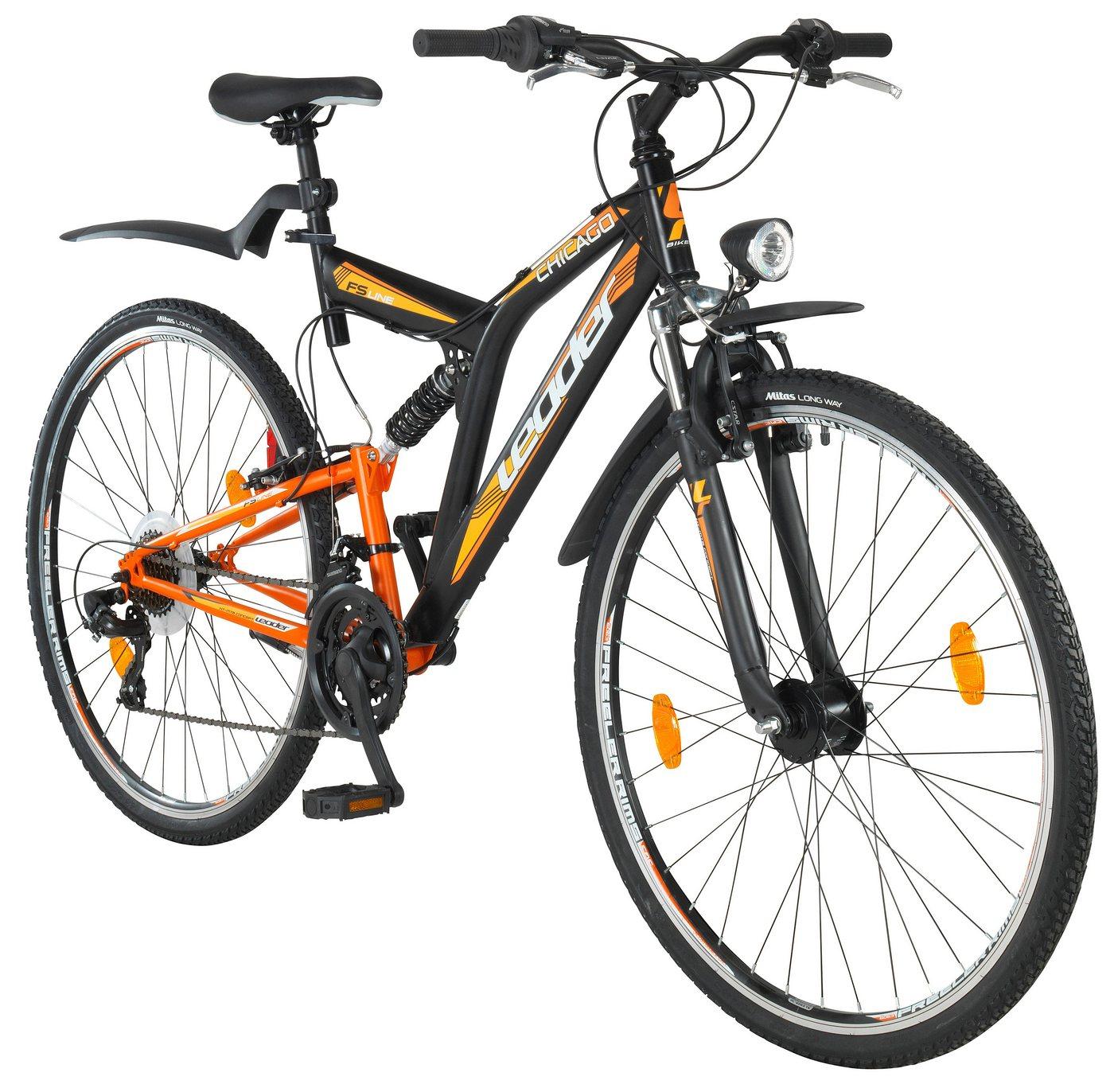 Leader All-Terrain-Bike 21 Gang, V-Bremsen