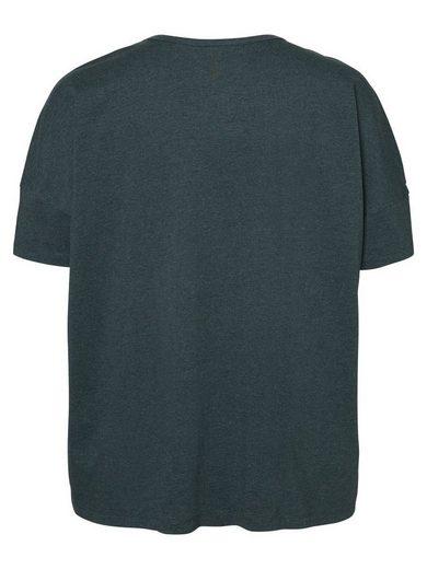 JUNAROSE Locker geschnittene Bluse mit 2/4 Ärmeln