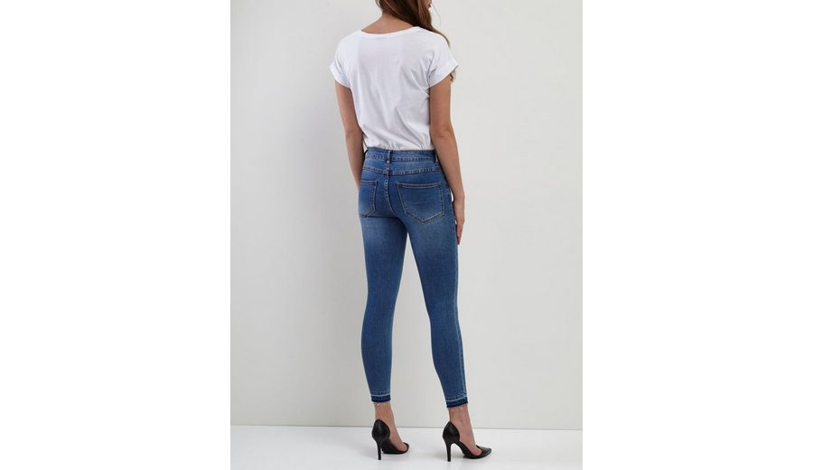 Vila 7/8 Skinny Fit Jeans Billig Online-Shop Manchester Günstiger Preis Auslass Verkauf eZfl1ms