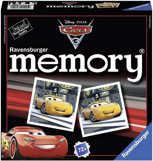 Ravensburger Spiel, »Disney Pixar Cars 3 memory®«, Made in Europe