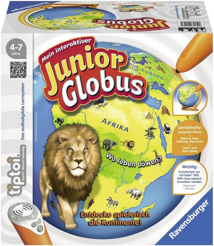 Ravensburger Buch, »tiptoi® Mein interaktiver Junior Globus«