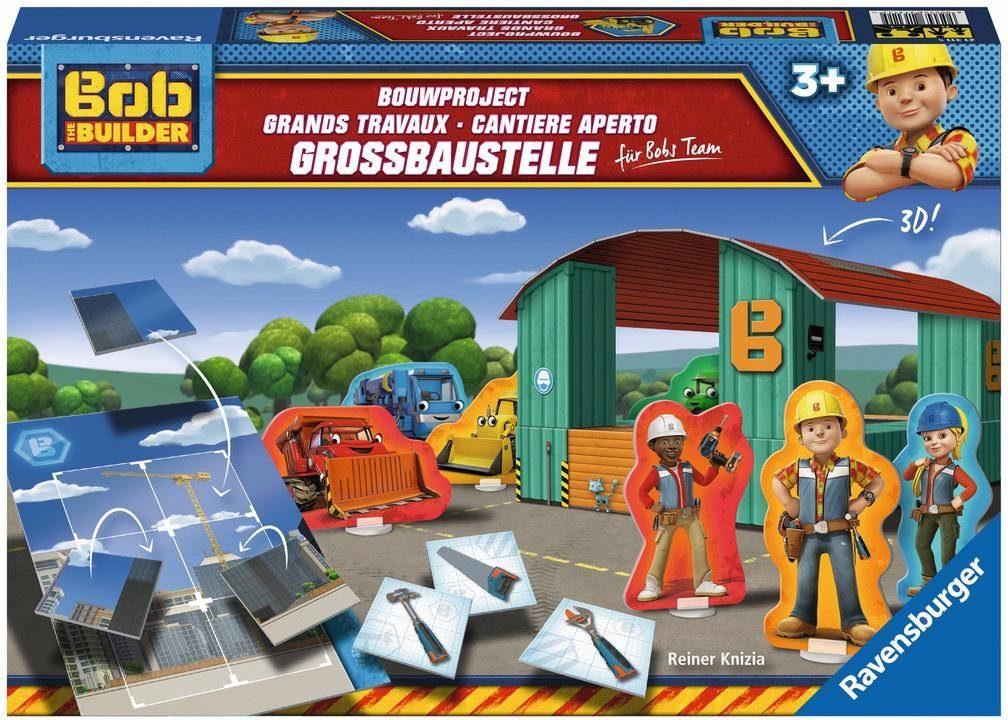 Ravensburger Kinderspiel, »Bob the Builder Großbaustelle für Bobs Team«