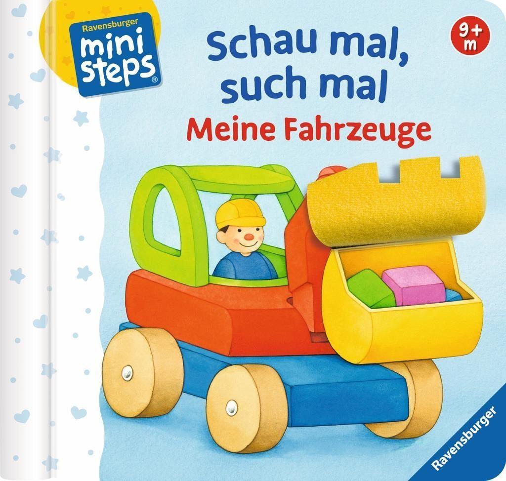 Ravensburger Kinderbuch, »ministeps®, Schau mal, such mal: Meine Fahrzeuge«