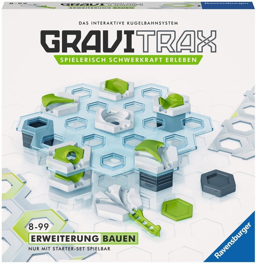 Ravensburger Erweiterungs-Set Kugelbahn, »GraviTrax Erw. Bauen«