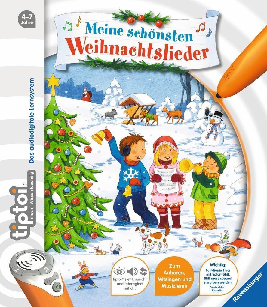 Ravensburger Buch, »tiptoi® Meine schönsten Weihnachtslieder«