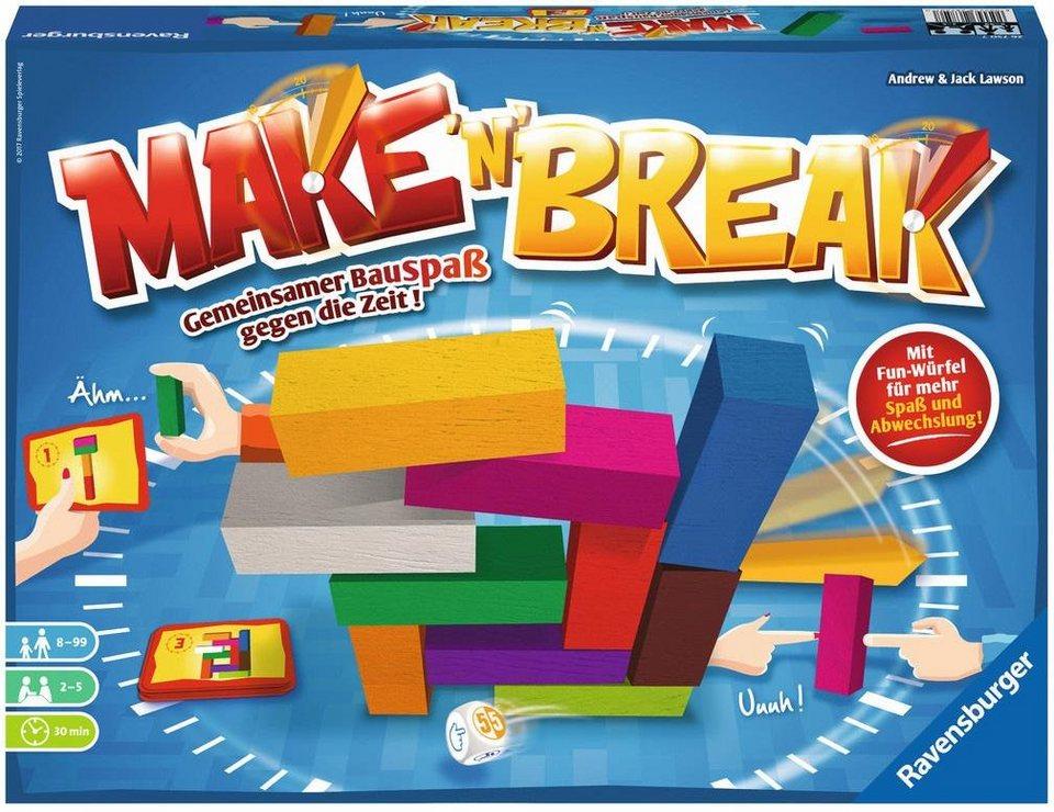 Ravensburger Gesellschaftsspiel,   Make & 39;n& 39; Break  Gesellschaftsspiel, 0f14a1