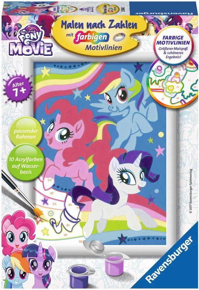 Ravensburger Malen nach Zahlen, »My little Pony, Magie der Freundschaft«