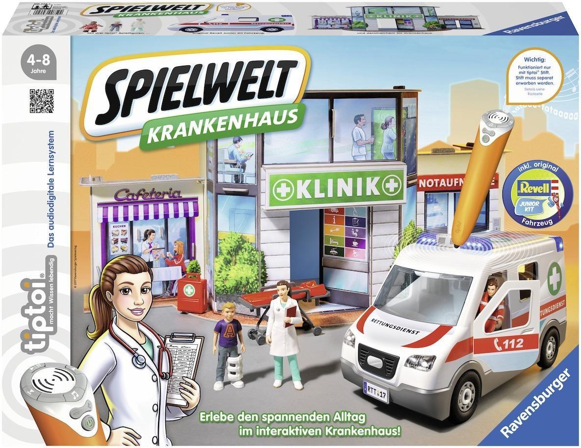 Ravensburger Lernspiel , »tiptoi® Spielwelt Krankenhaus«