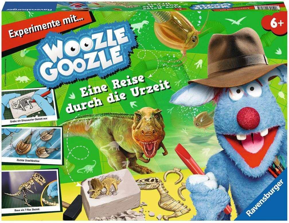 Ravensburger Experimentierkasten, »Woozle Goozle eine Reise durch die Urzeit«