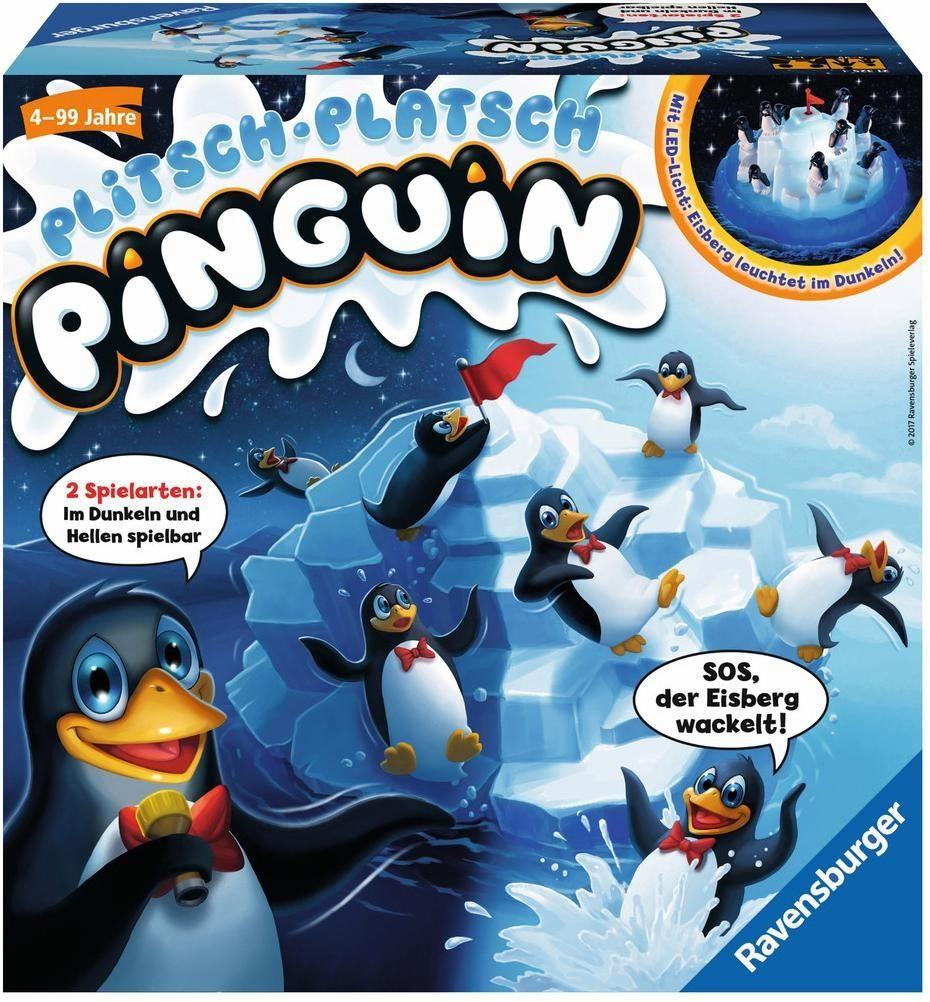 Ravensburger Kinderspiel, »Plitsch Platsch Pinguin«