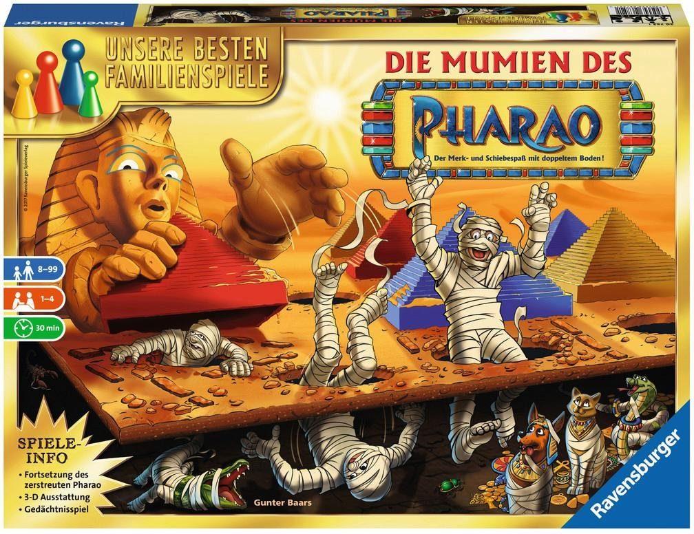 Ravensburger Familienspiel, »Die Mumien des Pharao«