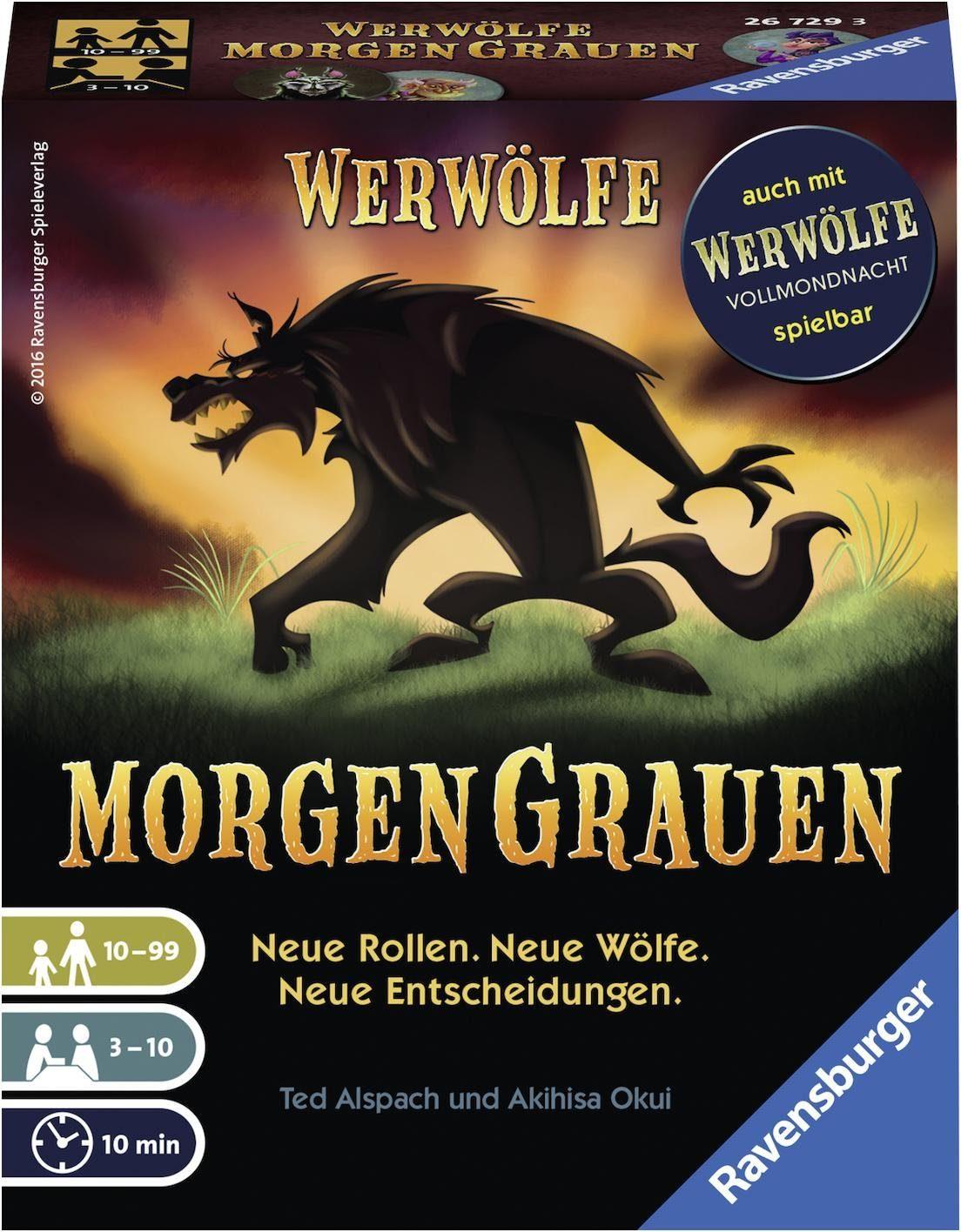 Ravensburger Kartenspiel, »Werwölfe Morgengrauen«