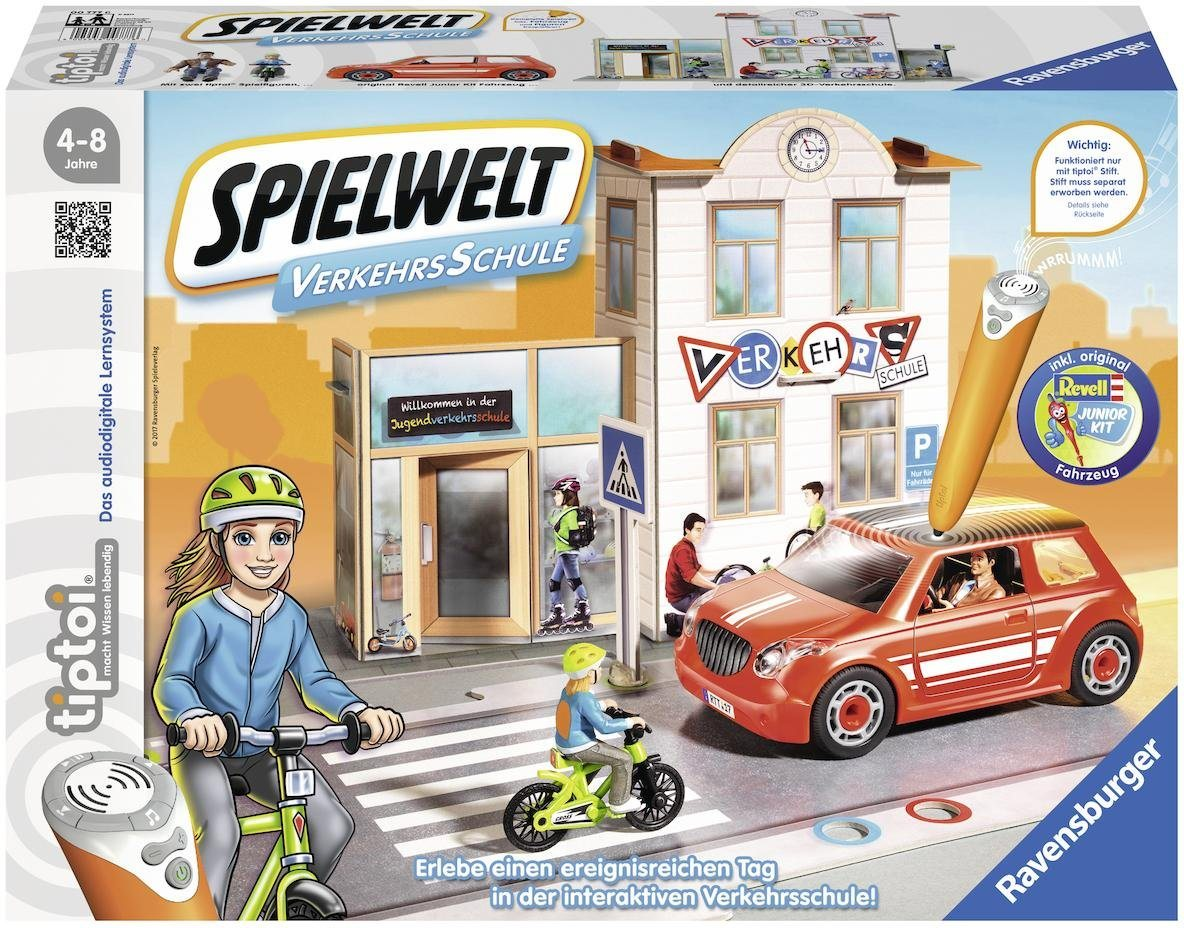 Ravensburger Lernspiel tiptoi®, »Spielwelt Verkehrsschule«