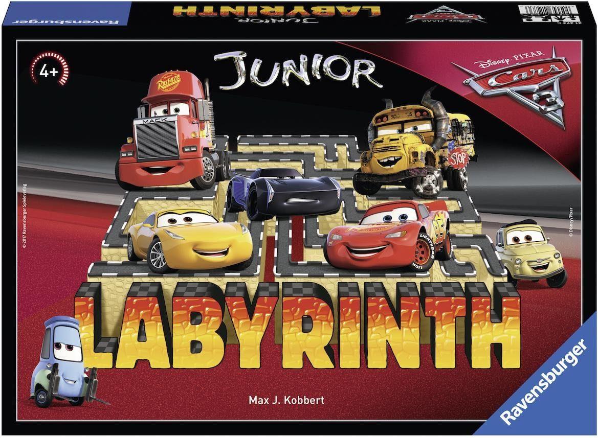 Ravensburger Gesellschaftsspiel, »Disney/Pixar Cars 3 Junior Labyrinth«