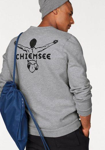 Chiemsee Sweatshirt, Innen weich angeraut