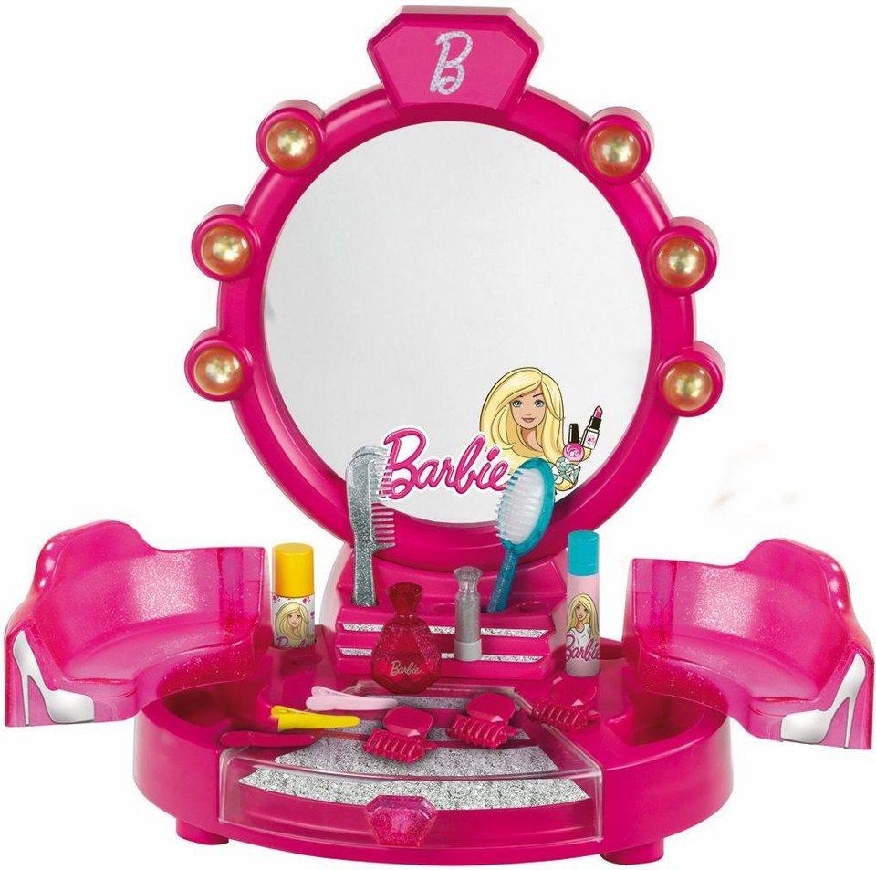 klein kinder schminktisch barbie sch nheitsstudio. Black Bedroom Furniture Sets. Home Design Ideas