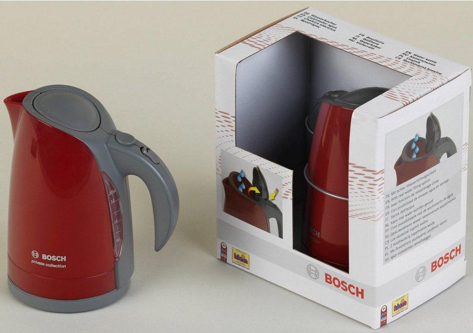 Klein Kinder Küchengerät, »Bosch Wasserkocher«   OTTO