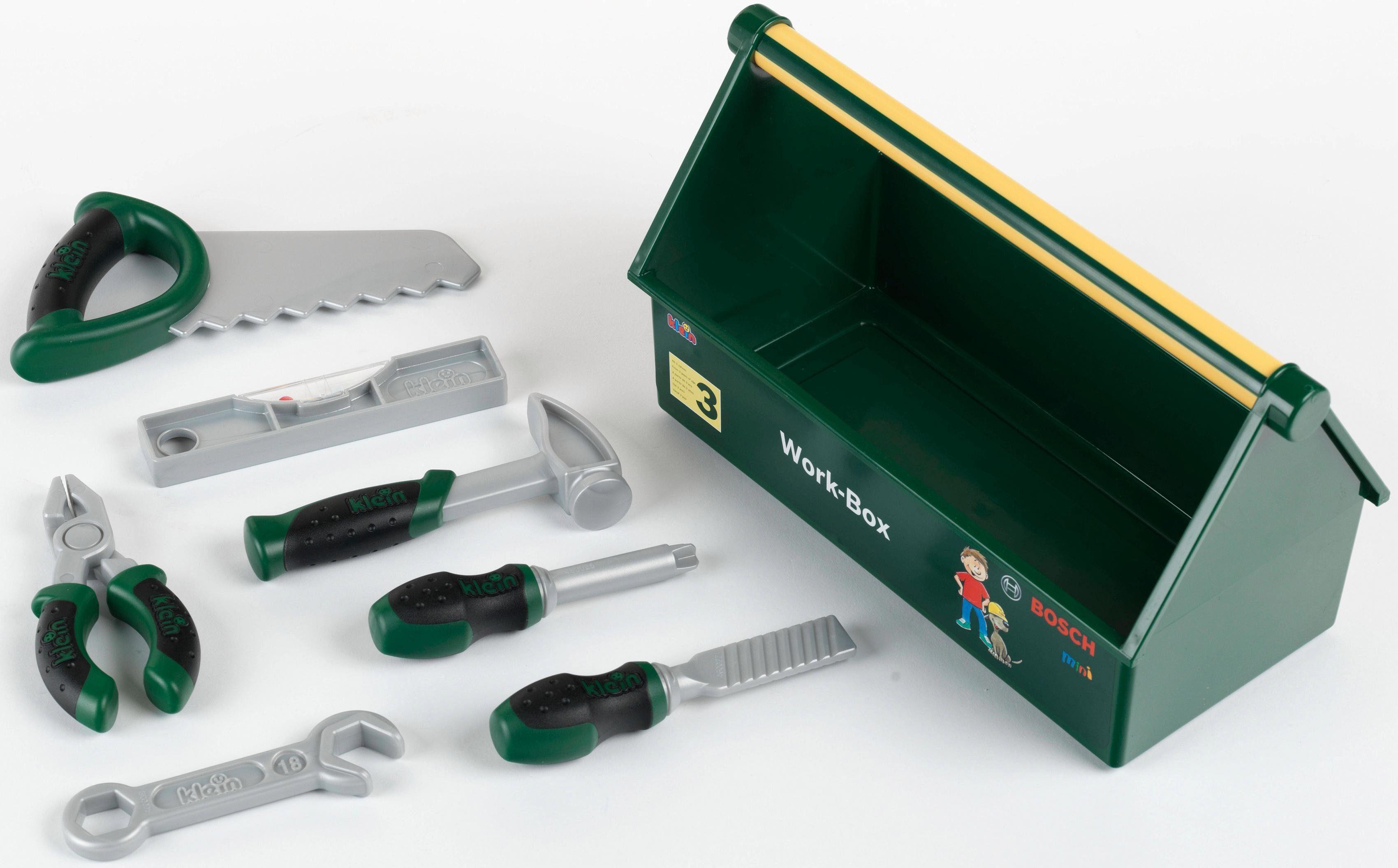 Klein Kinder Werkzeug, »Bosch Work-Box«