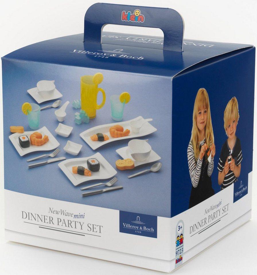 Klein Geschirr Set für Spielküche Villeroy und Boch