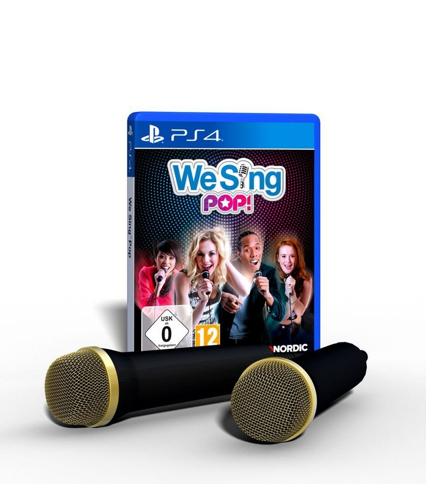 nordic games playstation 4 spiel we sing pop inkl 2. Black Bedroom Furniture Sets. Home Design Ideas