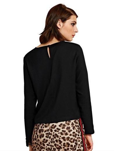 Alba Moda Blouse Shirt In The Form Kastiger