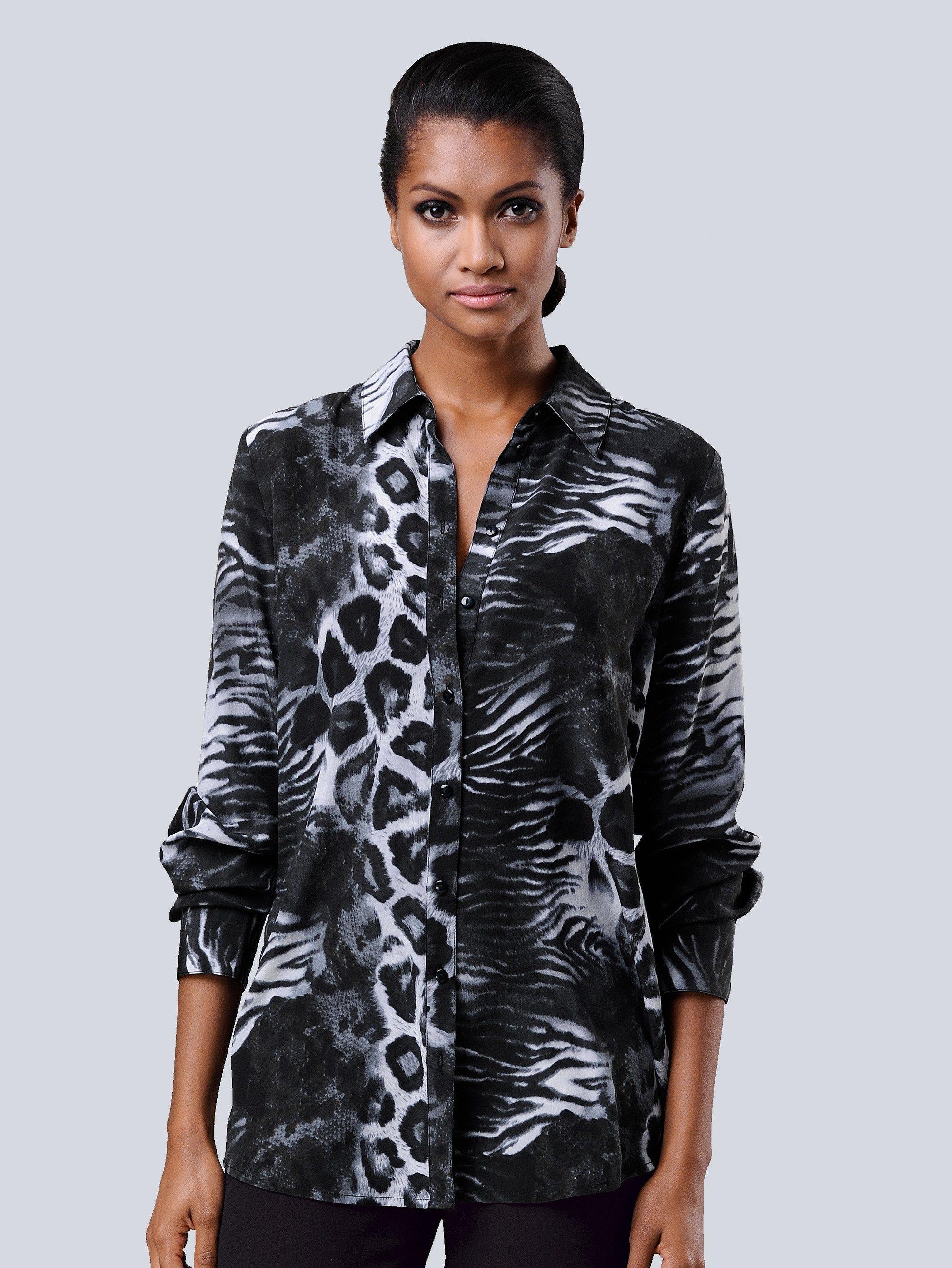 alba moda -  Bluse in exklusivem  Print