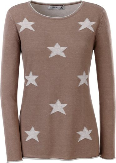 Collection L. Pullover mit Sternen-Muster