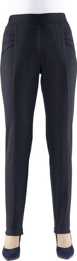 Classic Basics Pants In Dimensionally Stable Jersey Quality