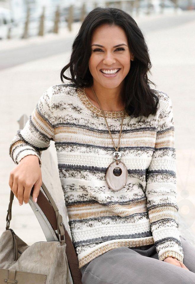 35fcee28f6 Casual Looks Pullover im attraktiven Streifenmuster online kaufen   OTTO