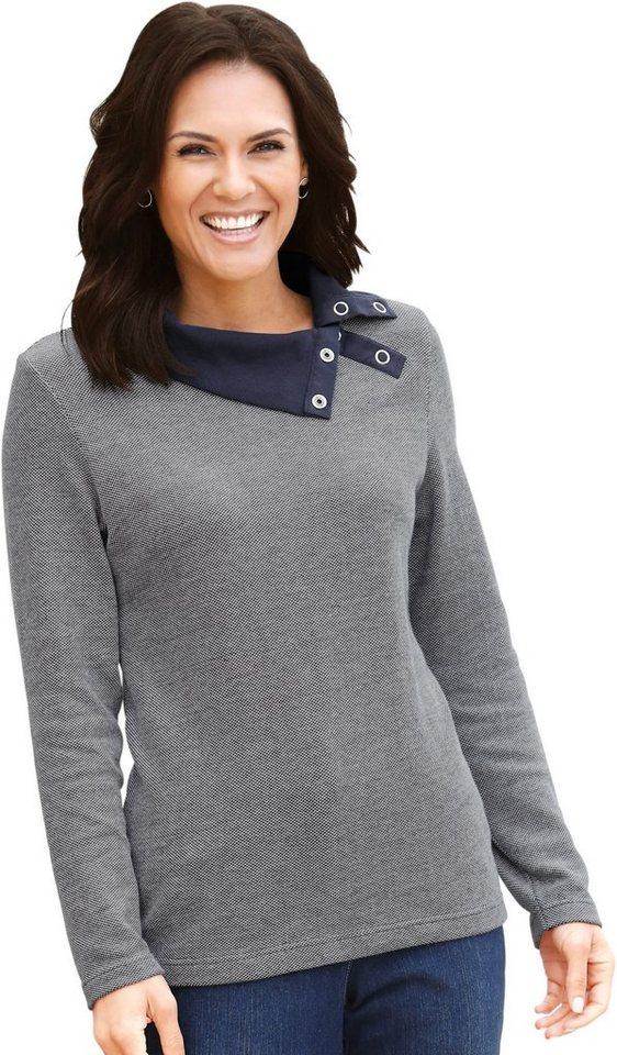 Damen Collection L. Shirt aus weichem Pikee blau | 05205012294439