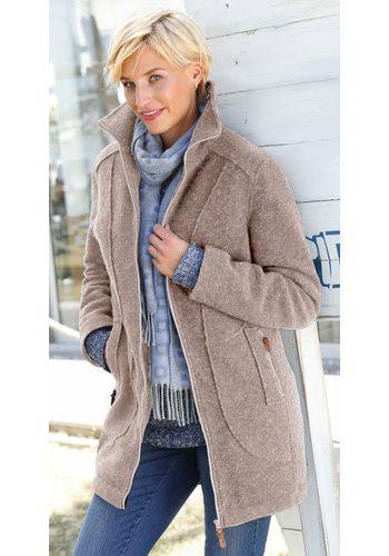 Damen Collection L. Walk-Jacke mit wärmendem Steppfutter braun | 06959737985323