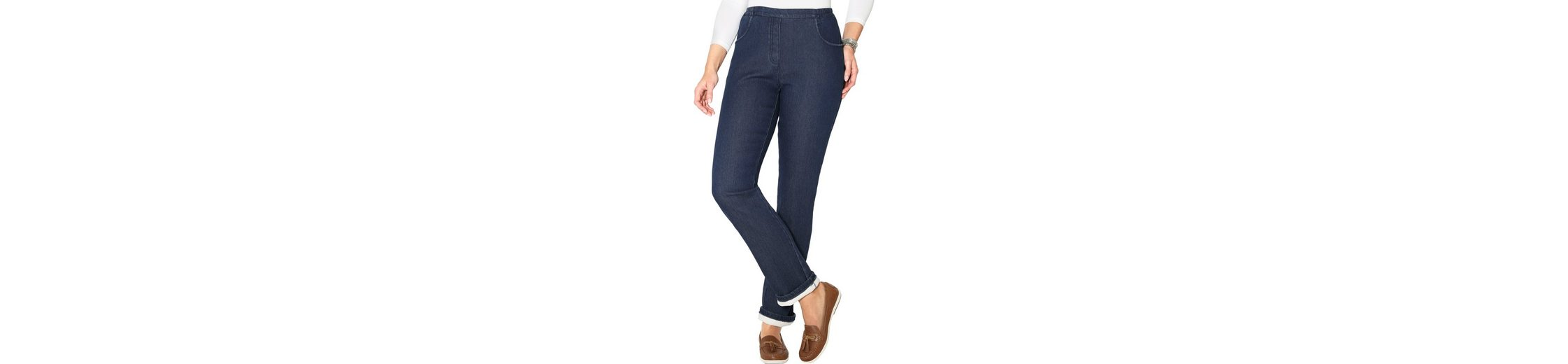 Classic Basics Thermo-Jeans - außen Denim, innen Fleece